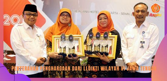 ITS PKU mendapat 5 award dari LLDIKTI wilayah VI