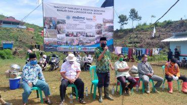 PDM  Kabupaten Bogor Resmikan Huntara Untuk Penyintas Longsor di Desa Cisarua