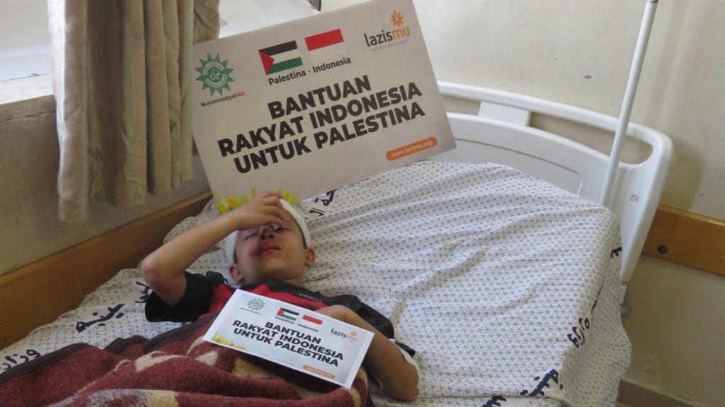 LAZISMU BERHASIL DISTRIBUSIKAN PAKET MEDIS DAN MAKANAN UNTUK RAKYAT GAZA