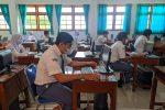 Meski Pandemi Belum Reda, ANBK di SMA Muhammadiyah PK Kottabarat Tetap Jalan